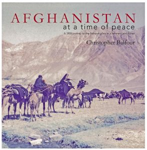 Book Cover: Afghanistan at a time of peace - Christopher Balfour