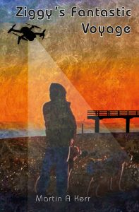 Book Cover: Ziggys Fantastc Journey - Martin Kerr